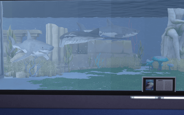 requins sims 4