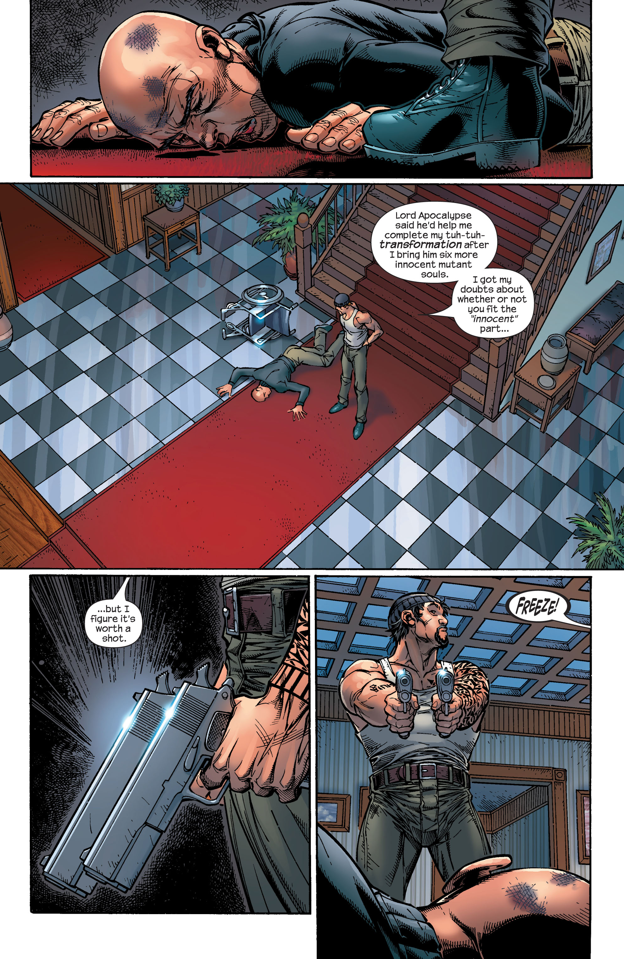 Read online Ultimate X-Men comic -  Issue #49 - 8