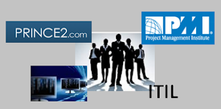 PMP, PRINCE2, ITIL