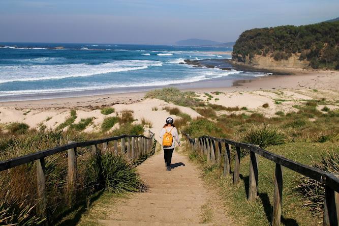 Pretty Beach Campsite Australia