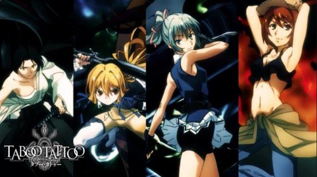 Taboo Tattoo - Daftar Anime Martial Arts Terbaik dan Terpopuler