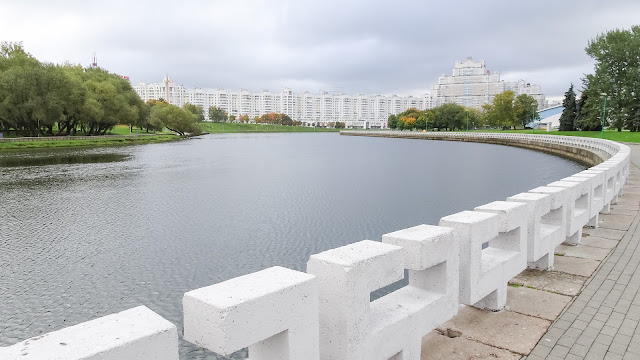 River in Minsk