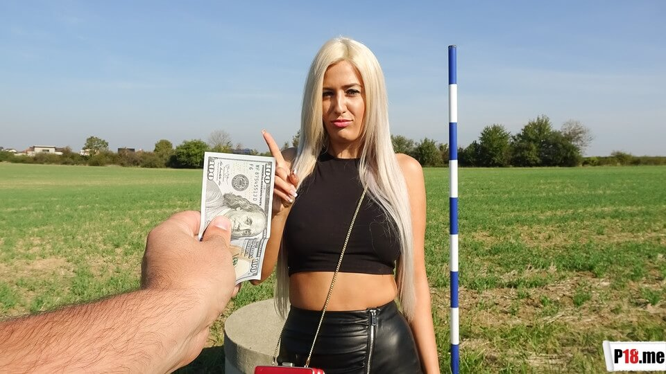 PublicAgent - Blanche Summer - Sweet Romanian Pussy Gets Creampied