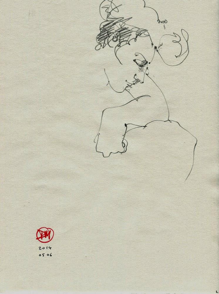 Sketch by David Meldrum