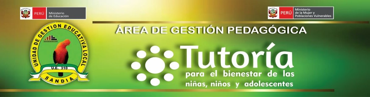 TUTORIA Y ORIENTACION EDUCATIVA