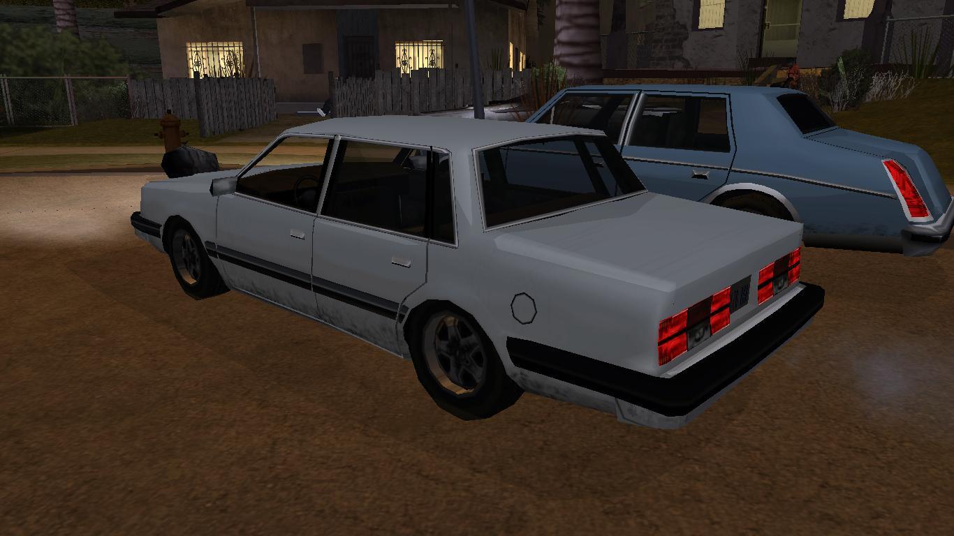 Low Poly garage: 1982-84 Chevrolet Celebrity for GTA SA
