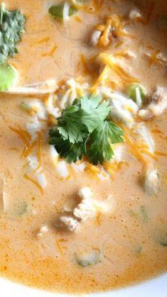 Buffalo Chicken Soup — Low Carb #buffalo #chicken #soup #chickenrecipes #souprecipes #buffalorecipes #chickensoup