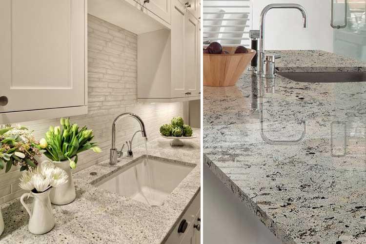 Marzua tipos de encimeras de cocina for Encimera de marmol precio