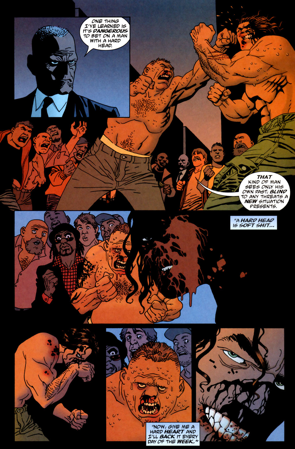 Read online 100 Bullets comic -  Issue #64 - 5