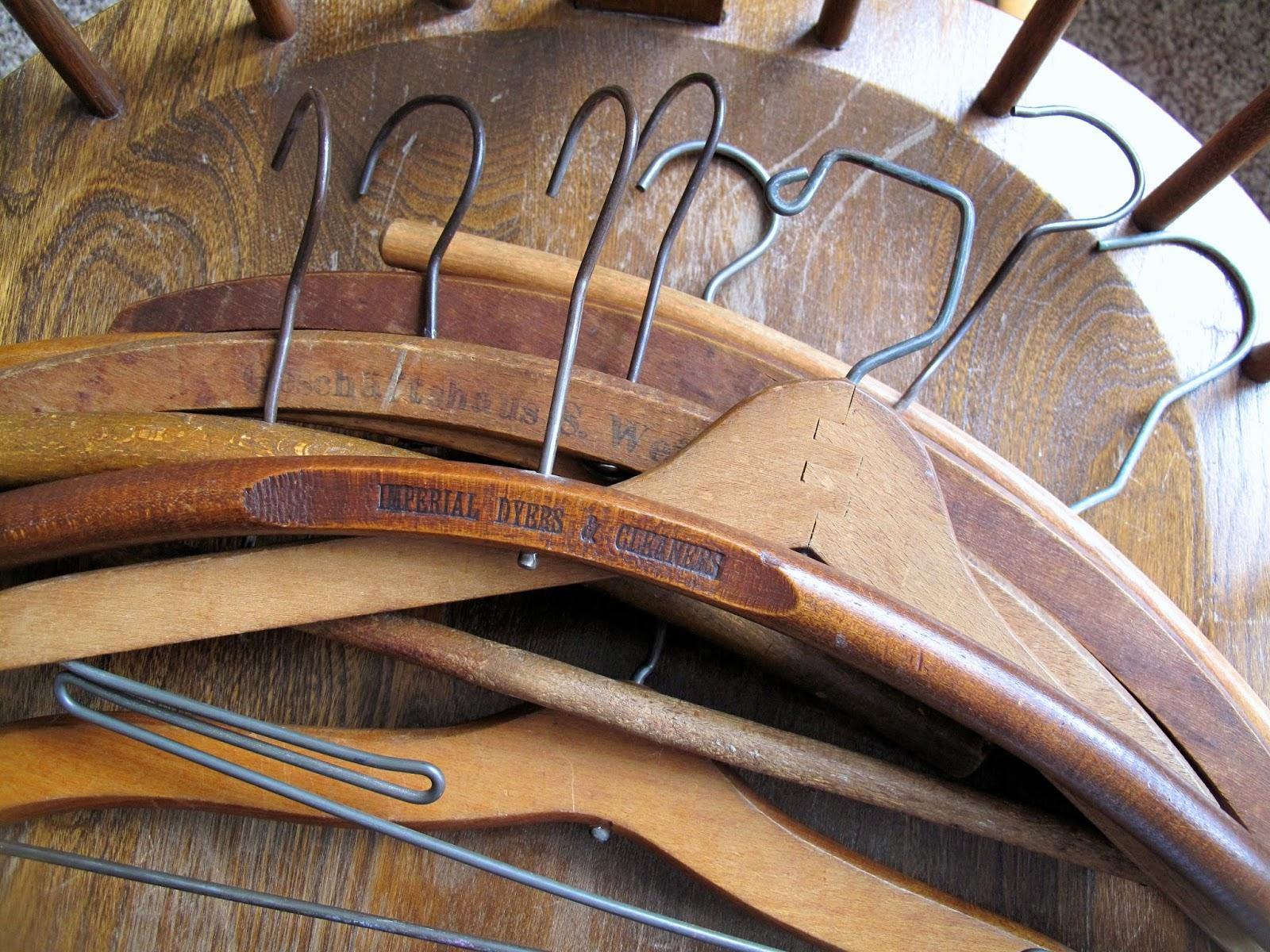 Antique Wooden Hangers Best 2000 Antique Decor Ideas