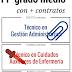 CICLOS DE FP GRADO MEDIO CON MÁS CONTRATOS