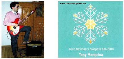 Tony Marquina: ¡Feliz Navidad y próspero año 2018!