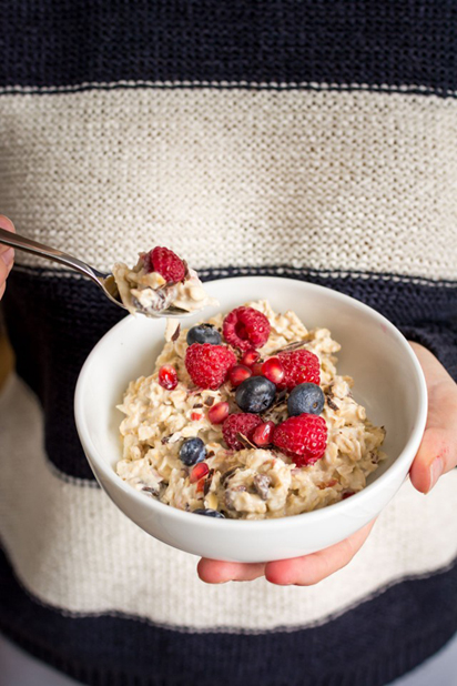 Healthy Snack Option Eat Clean Energy Morning Breakfast Overnight Oats Recipe