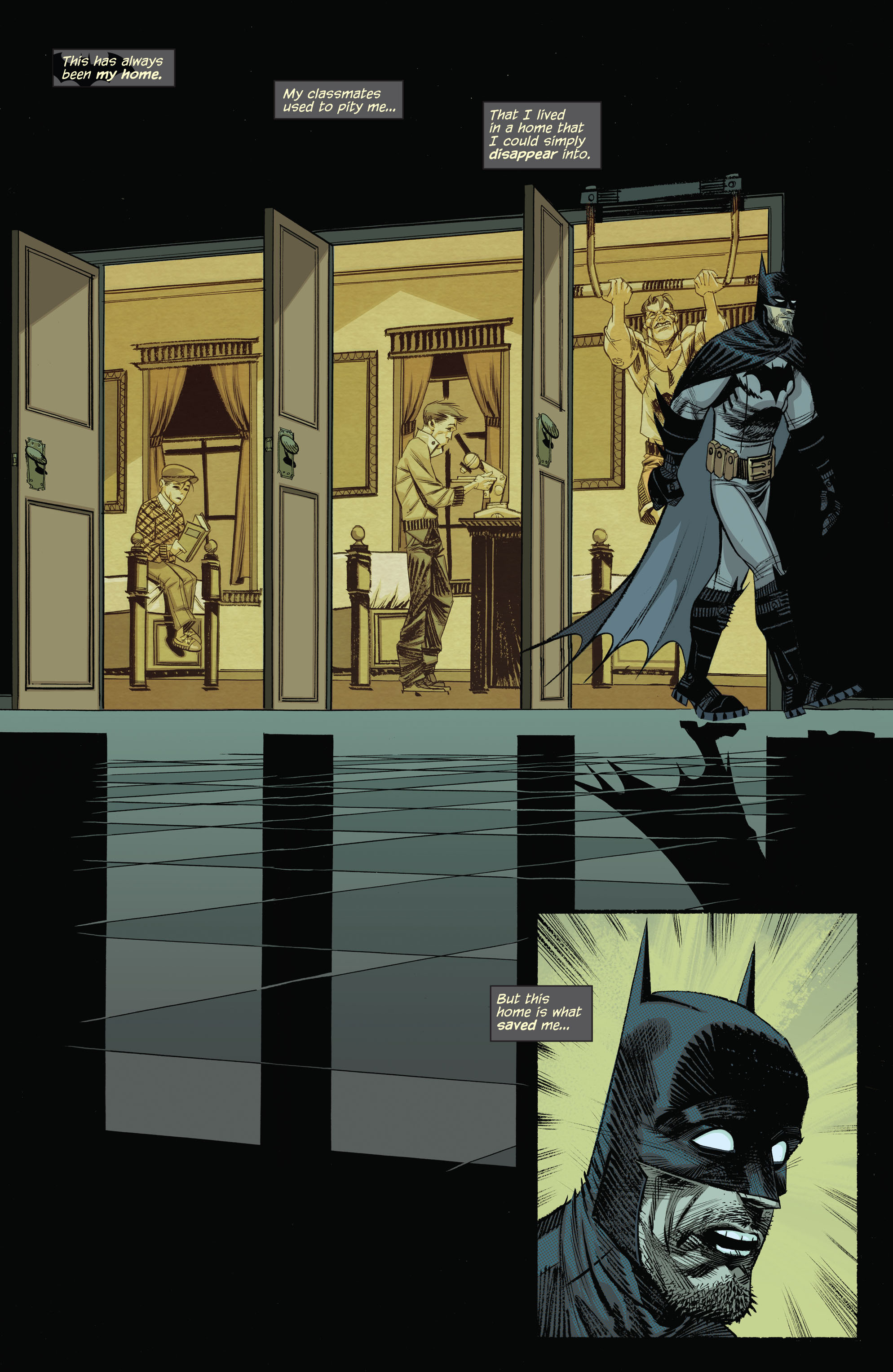 Read online Arkham Manor comic -  Issue #1 - 15