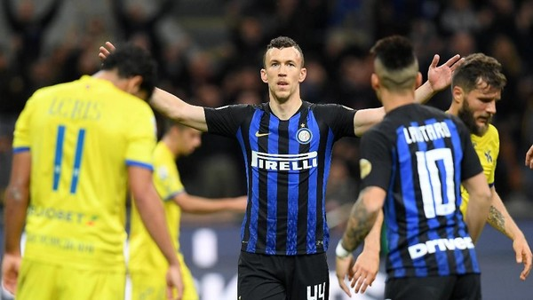 Hasil Liga Italia: Inter Milan Susah Payah Kalahkan Chievo