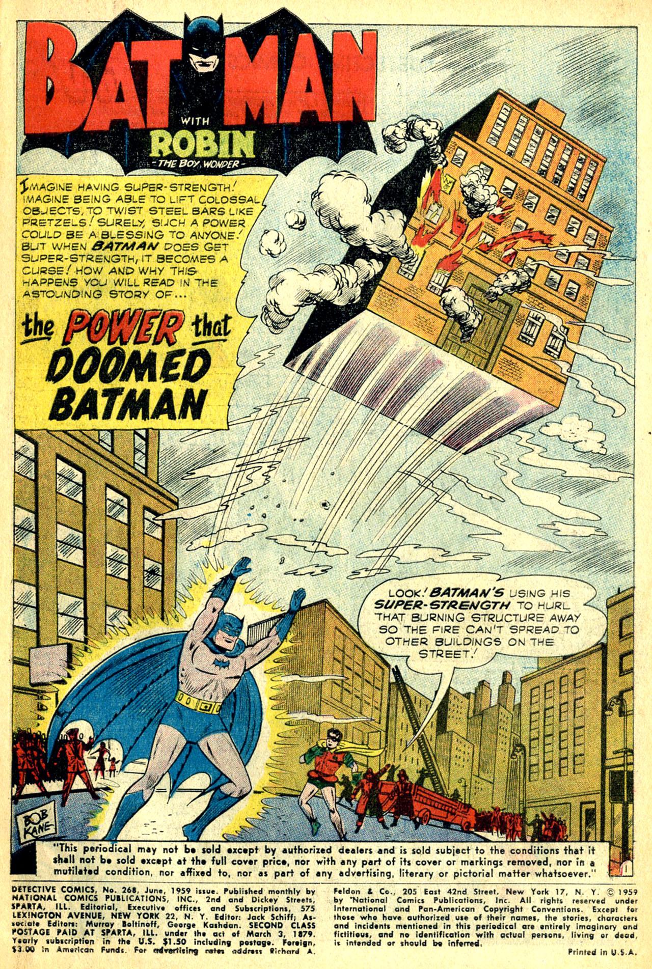 Read online Detective Comics (1937) comic -  Issue #268 - 3