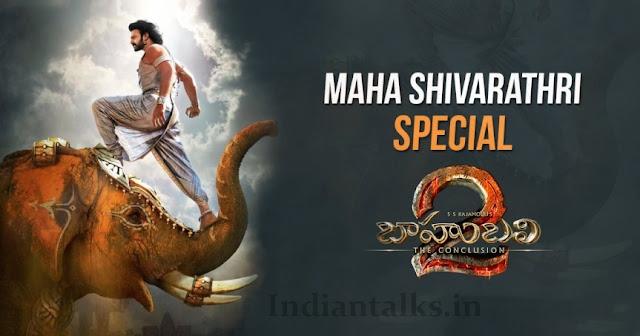 Baahubali 2 – The Conclusion Motion Poster of Prabhas Maha Shivaratri Special