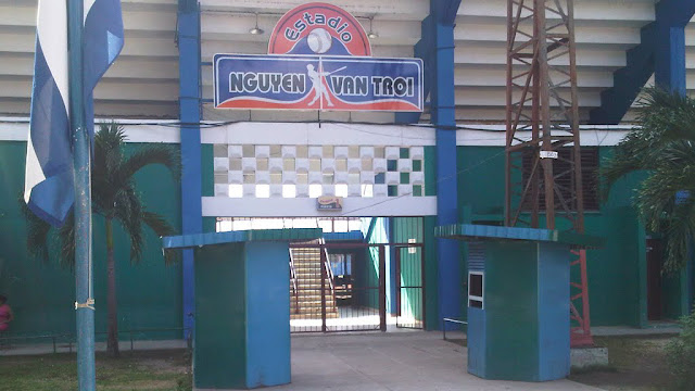 La pelota en Cuba se juega en estadios cuyos nombres nada tienen que ver con el béisbol