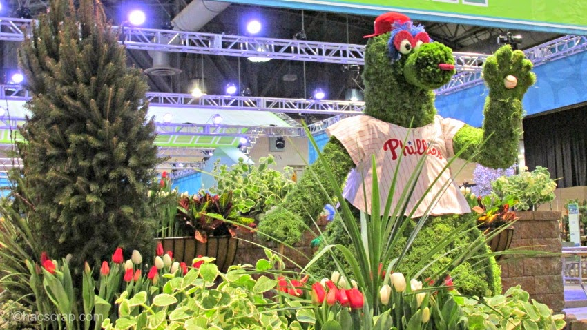 Philadelphia Flower Show - Phillies Garden