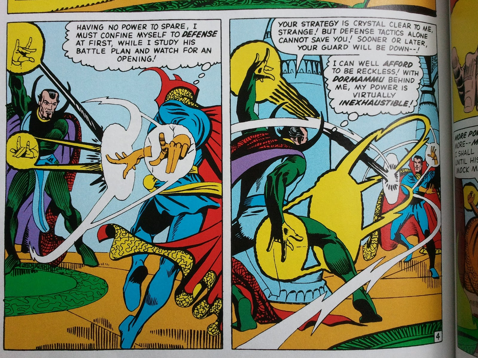 Junk Food For Thought: Review- MARVEL MASTERWORKS: DOCTOR ...