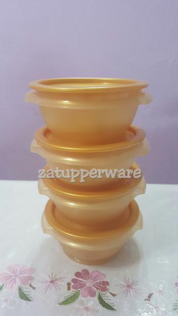 Tupperware One Touch Bowl (4) 400ml