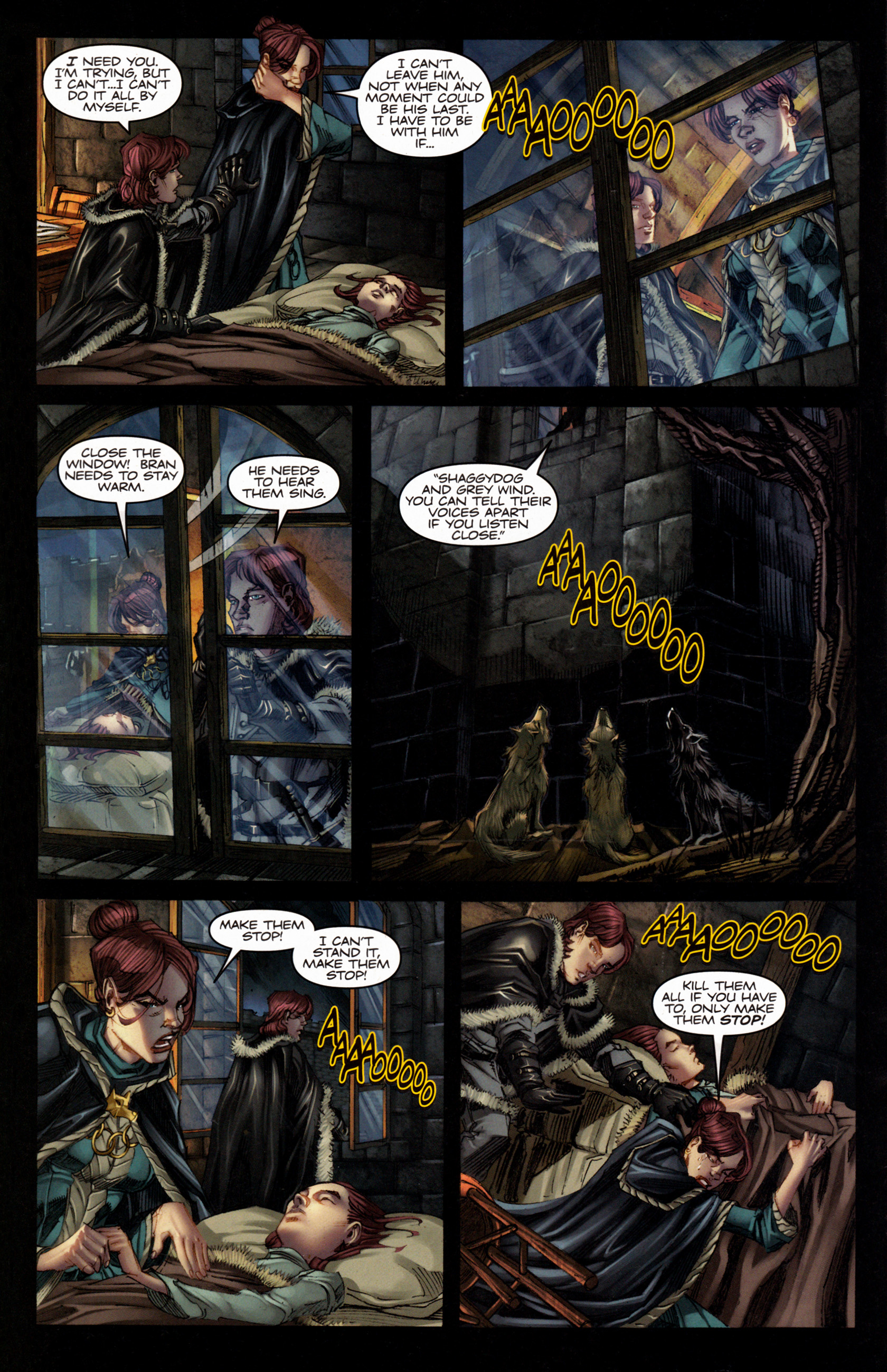 Read online A Game Of Thrones comic -  Issue #4 - 22