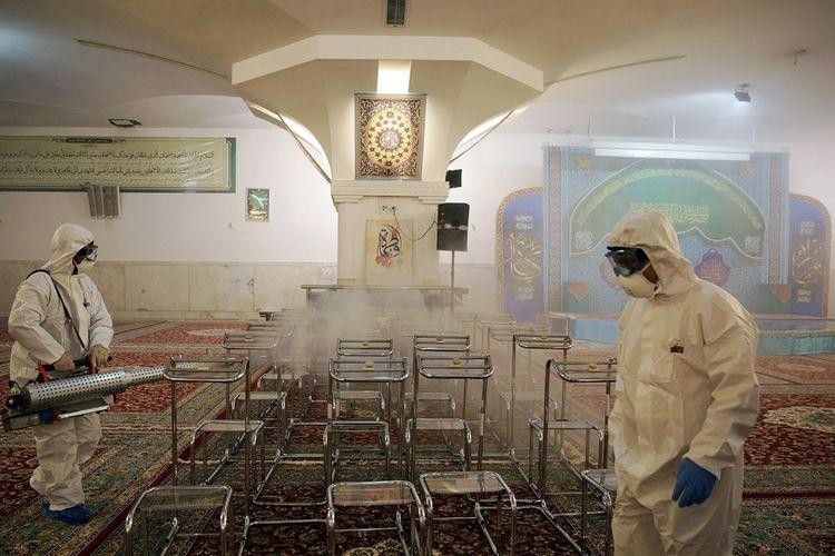 Di Iran, Virus Corona Renggut 54 jiwa, Tertinggi di Timur Tengah