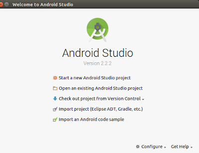 Installation Step - How To Install and Use Android Studio on Ubuntu 16.04