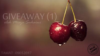 Giveaway (1) oleh Mieza Suhaini