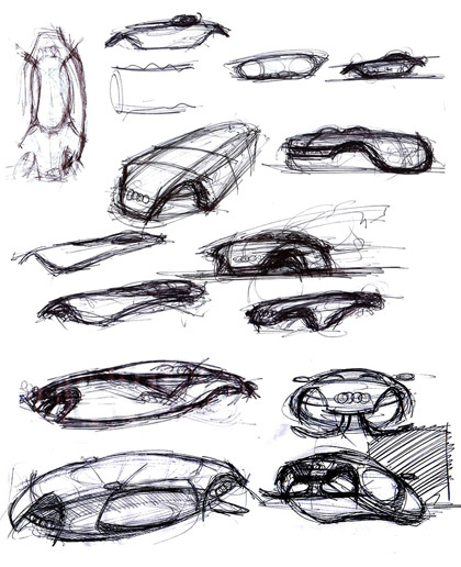 Hyperborean Vibrations: Project Audi Shark the anti gravity car