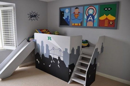 Ideas for decorating boys rooms 5