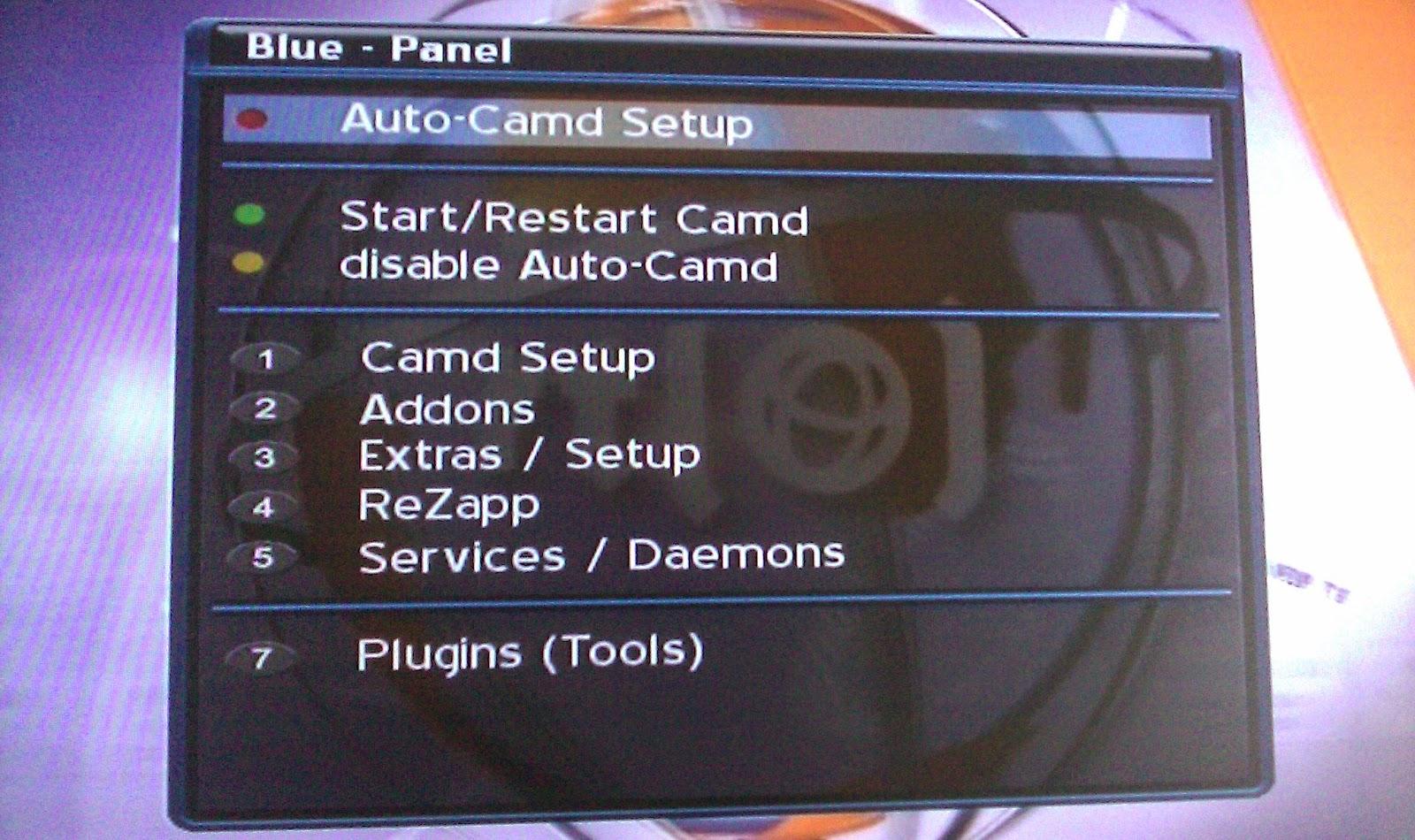 Dreambox 500s Setup manual