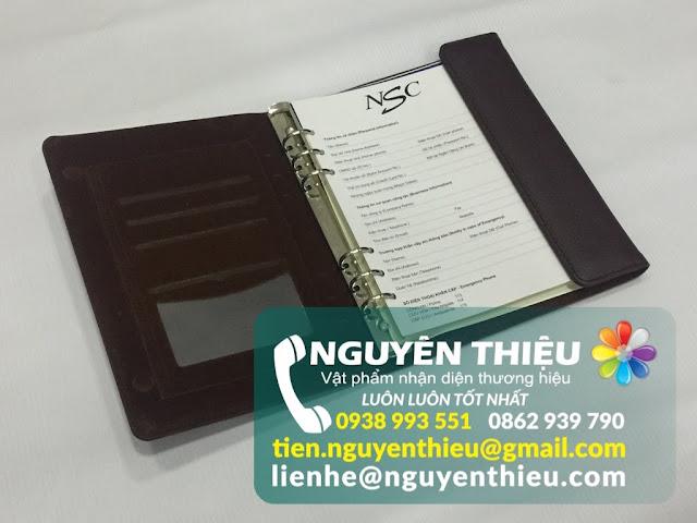 Sản xuất sổ tay bọc da sang trọng, sản xuất sổ tay bìa da quà tặng chất lượng cao