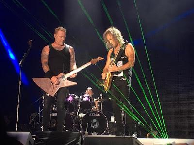 Metallica Detroit Hardwired Tour