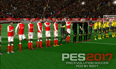 FTS Mod PES 2017 Apk Data Obb by Rizky Arsenal (Update Save Data+Texture)