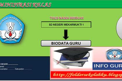 Aplikasi Administrasi Kelas Terbaru dan Lengkap