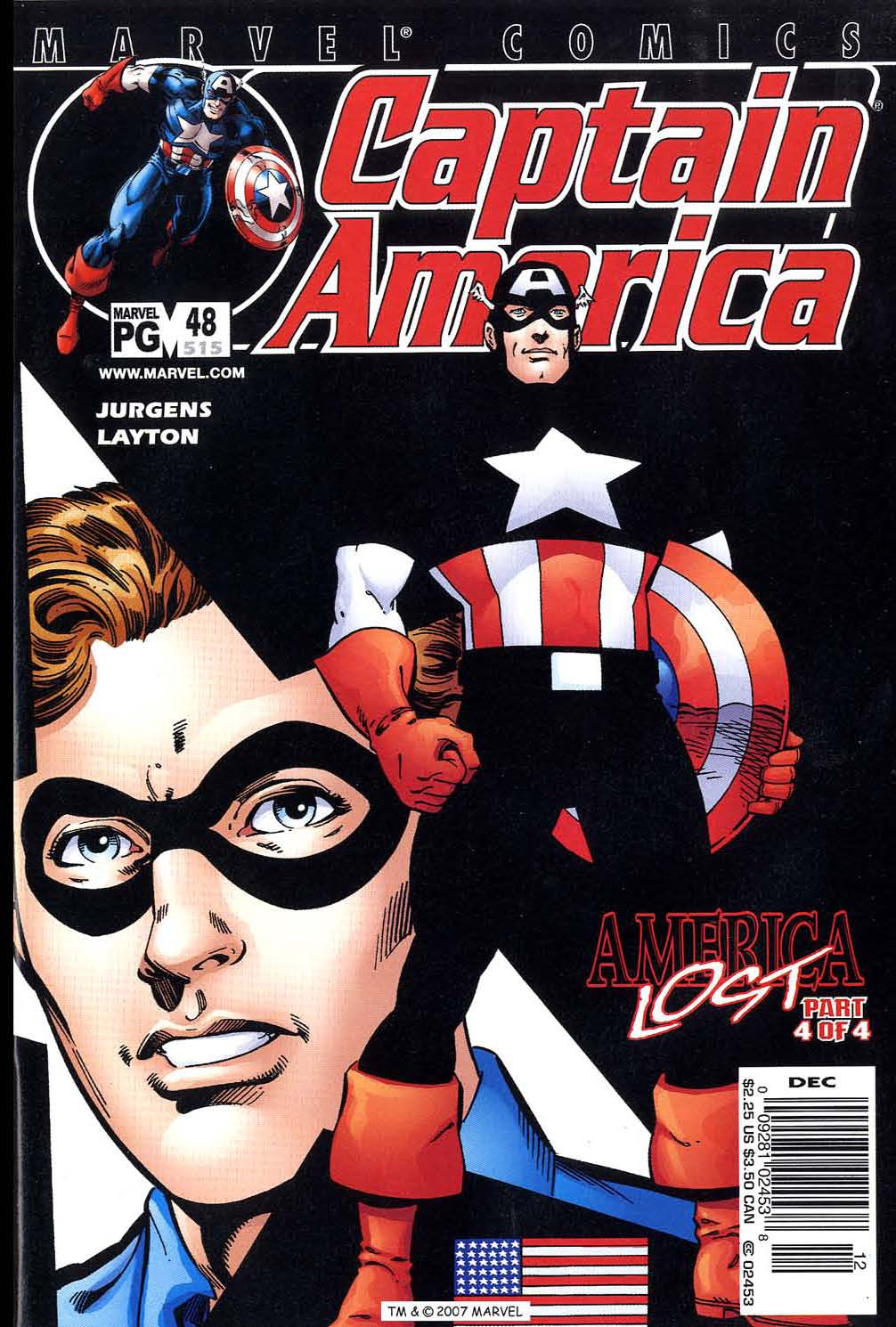 Captain America (1998) 48 Page 1