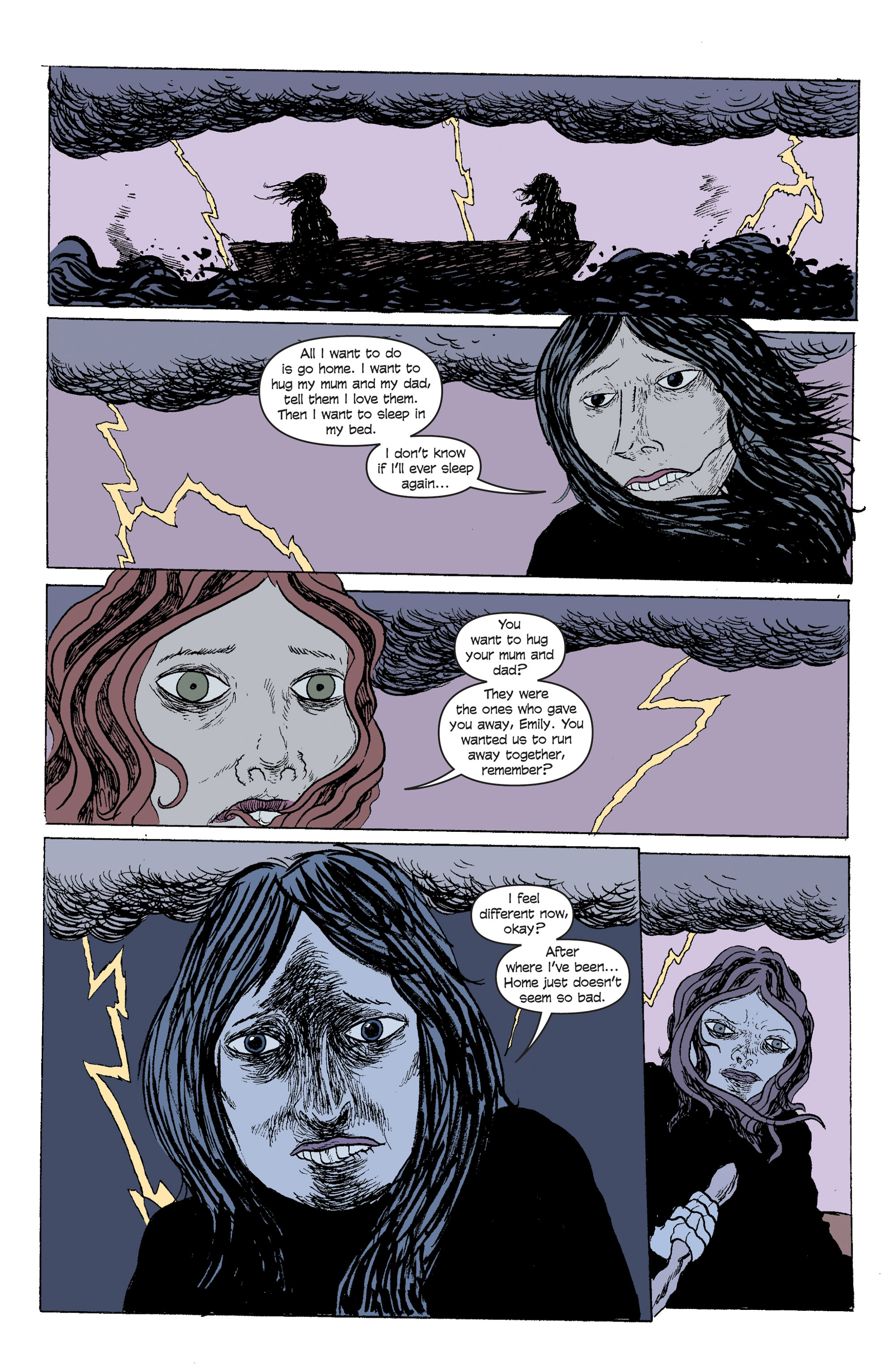 Read online And Then Emily Was Gone comic -  Issue #5 - 18