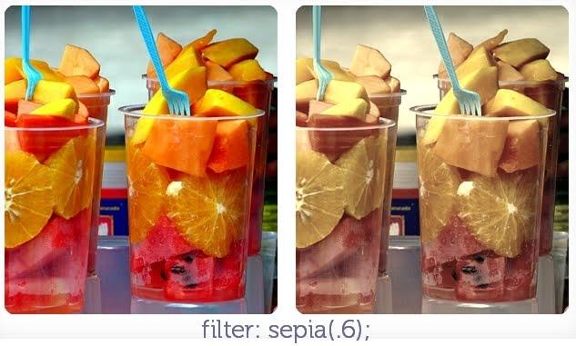 filter: sepia