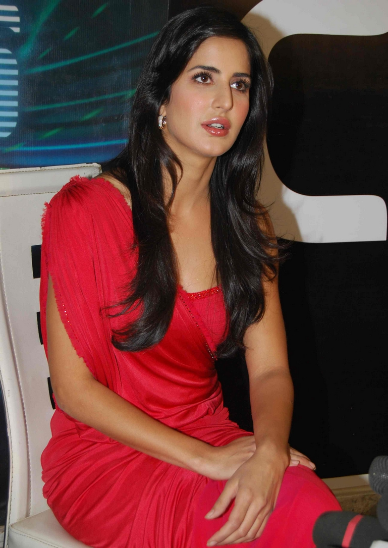 Katrina Kaif Hot Red Dress Photo Gallery  Katrina Kaif -5023