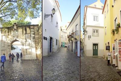 St. Jorge's door -  Alcáçova Walls and inside streets