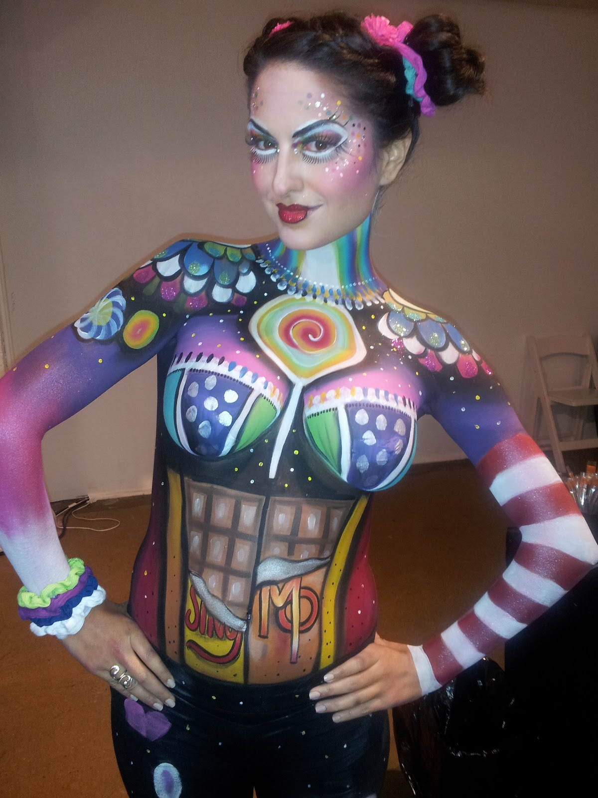 Halloween Body Paint
