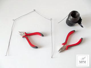 come realizzare una capanna con il fil di ferro