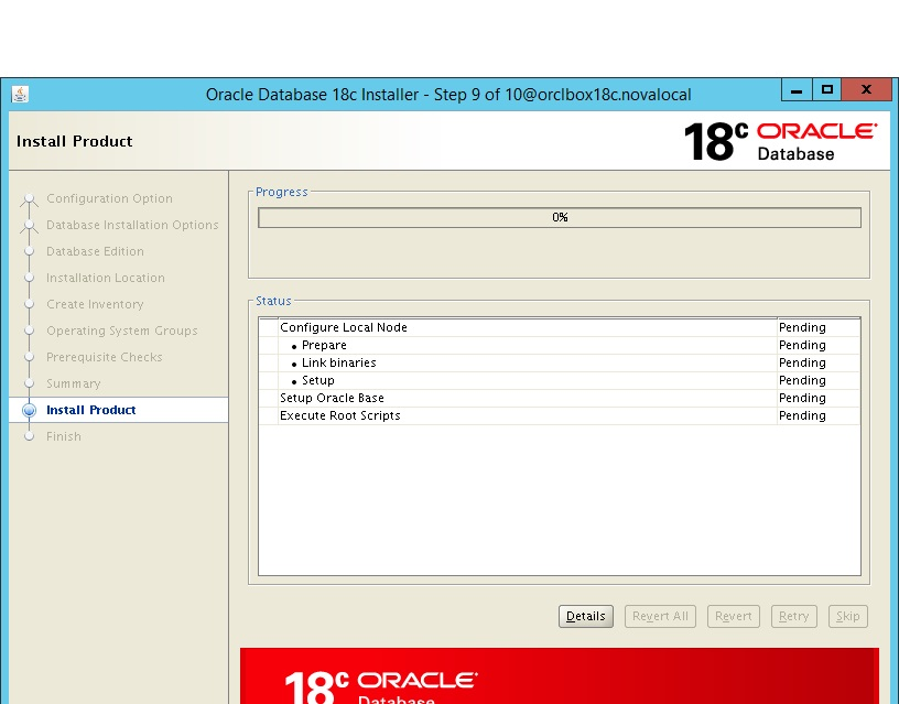 Oracle Database - 18c: On Premise Installation - Oracle Linux - Part