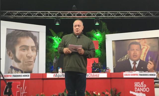 Diosdado Cabello, el verdadero rostro del miedo