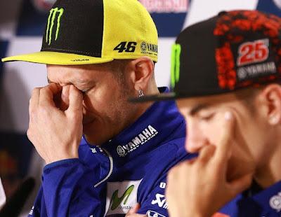 Tim Yamaha: Selama Ini Vinales Tidak Nyaman Pakai Motor Kami