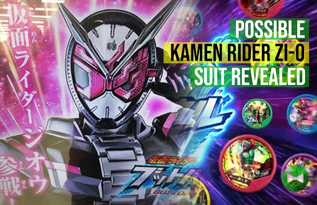 Possible Kamen Rider Zi-O suit revealed