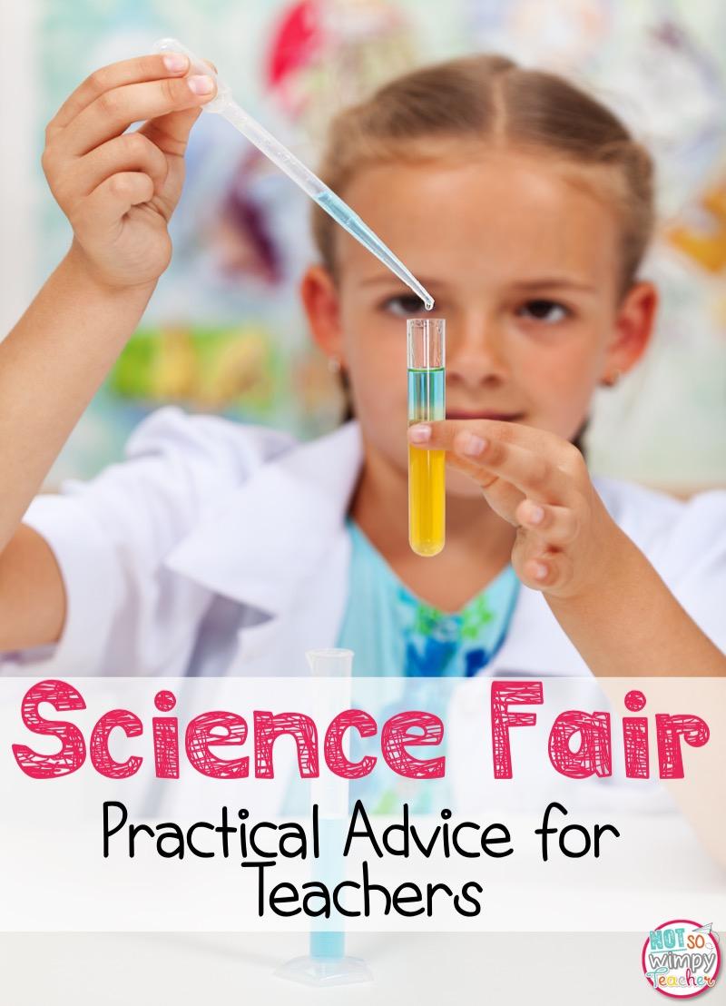 diary of a not so wimpy teacher science fair