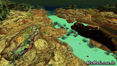 corais no oceano gta sa