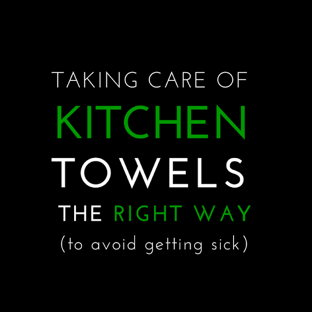 Of all the towels we use each day, the kitchen towels should get the most careful care.  Dirty kitchen towels, studies show, harbor harmful bacteria you do not want to ingest.  Try these easy guidelines to keeping those useful towels from harming you: